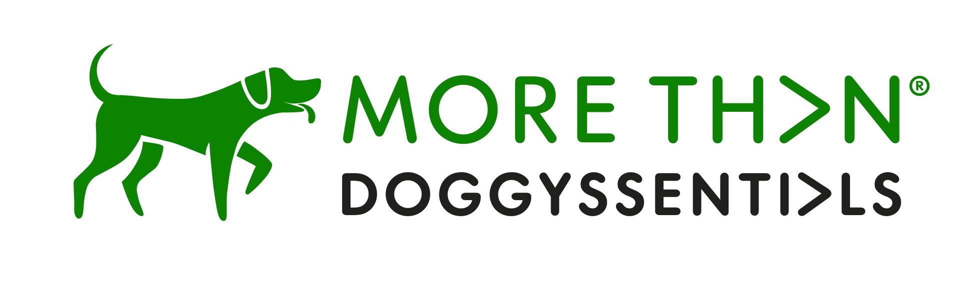 More Th>n Doggyssenti>ls logo