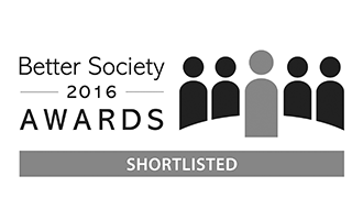 Better Society 2016 Awards Shortlisted logo